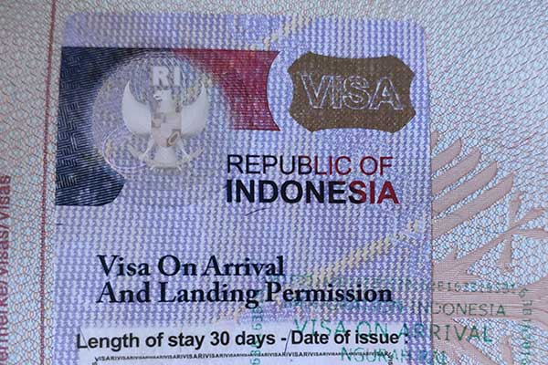 Visa On Arrival Voa For Bali And Indonesia Bali Com